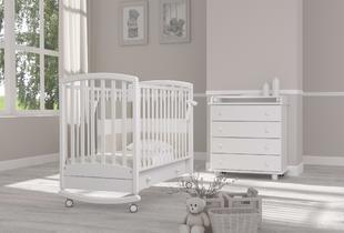 детские кроватки качалки