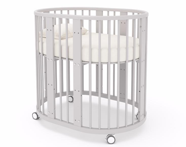 овальная детская кроватка