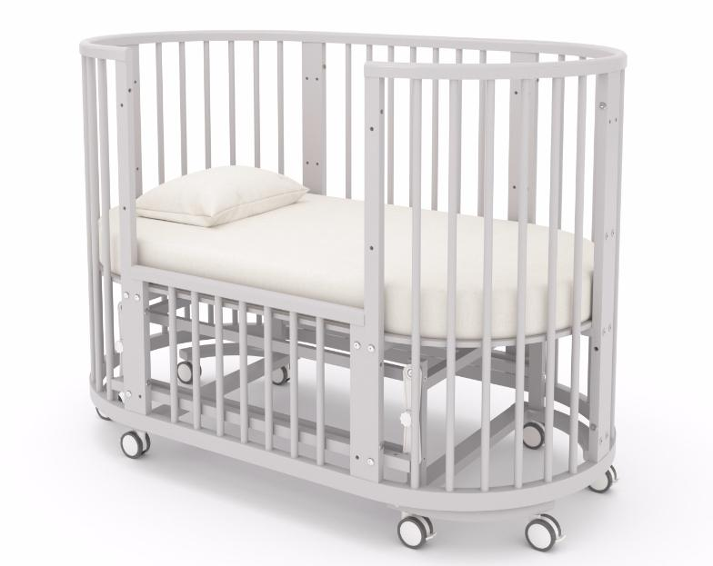 овальная детская кроватка в Минске